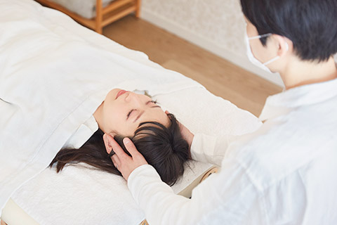 自律神経失調症施術内容1